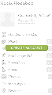 Create a myGarden.org account